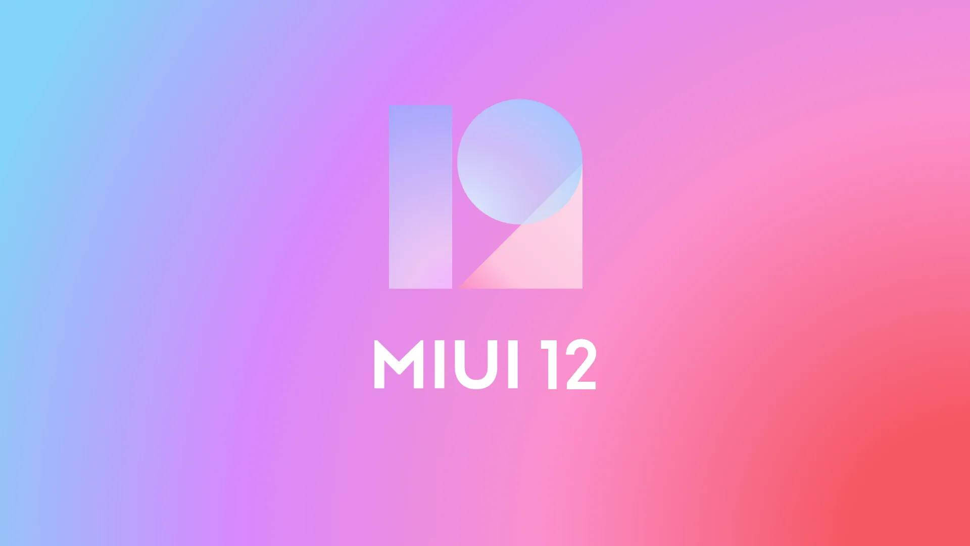 MIUI 12 based on Android 10.