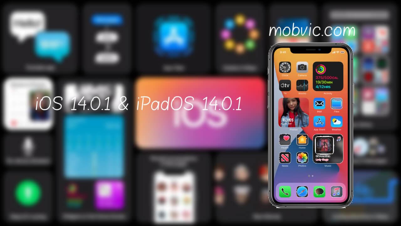 iOS 14.0.1 & iPadOS 14.0.1