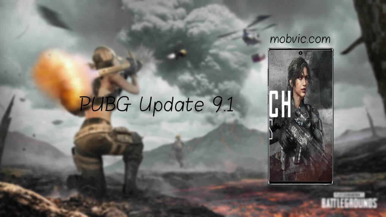 PUBG Update 9.1