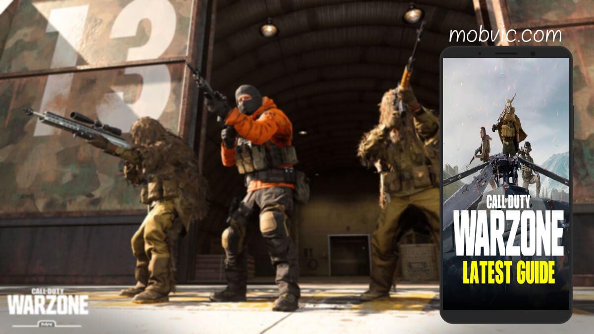 تحميل لعبة Call of Duty Warzone للاندرويد والايفون