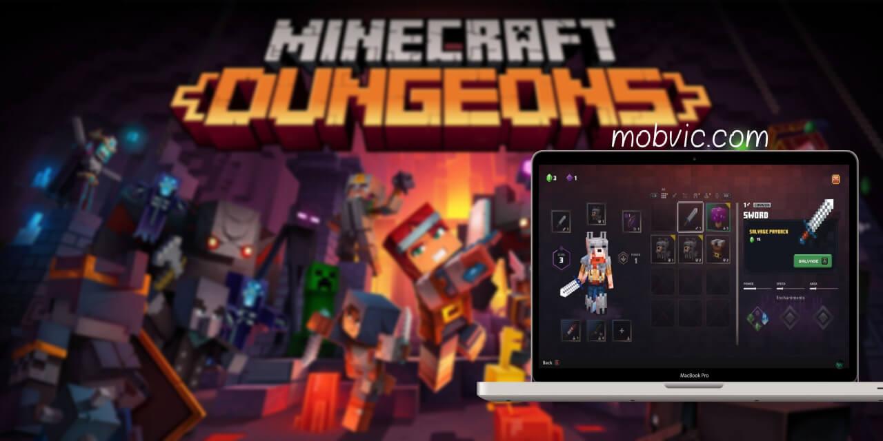 تحميل لعبة Minecraft Dungeons للاندرويد