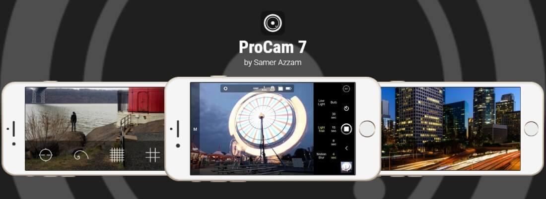 رابط تحميل بروكام 7 للايفون [ProCamera 7 iOS]