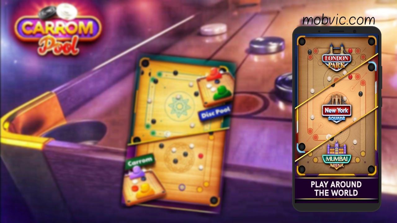 تحميل لعبة كيرم مجانا : Carrom Pool 2020 للاندرويد والايفون برابط مباشر