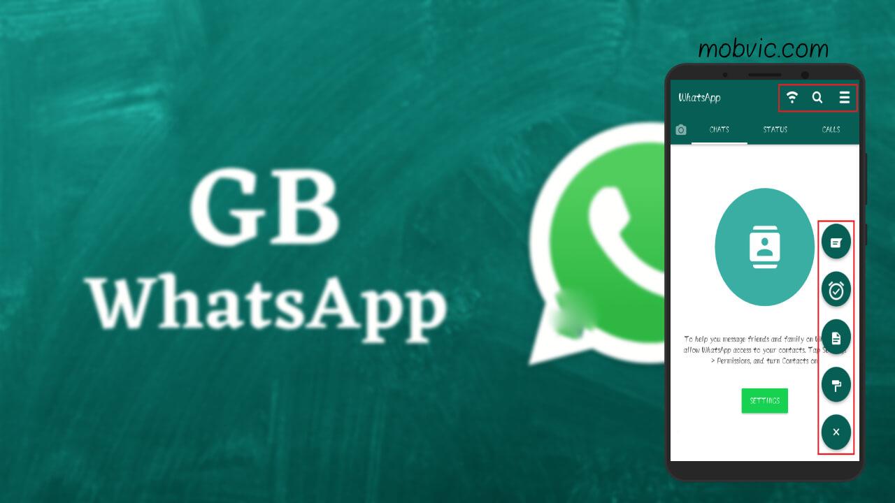 تحميل جي بي واتس اب GBWhatsApp APK