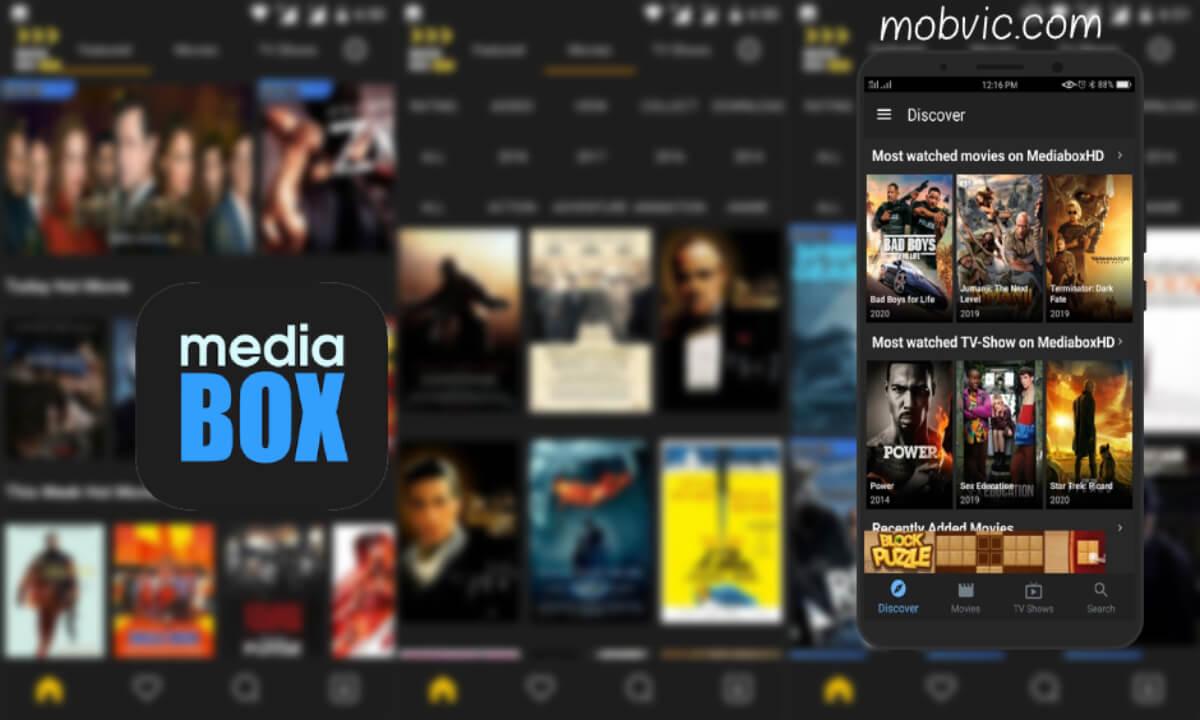 تحميل تطبيق ميديا بوكس 2020: MediaBox HD APK للأندرويد آخر اصدار