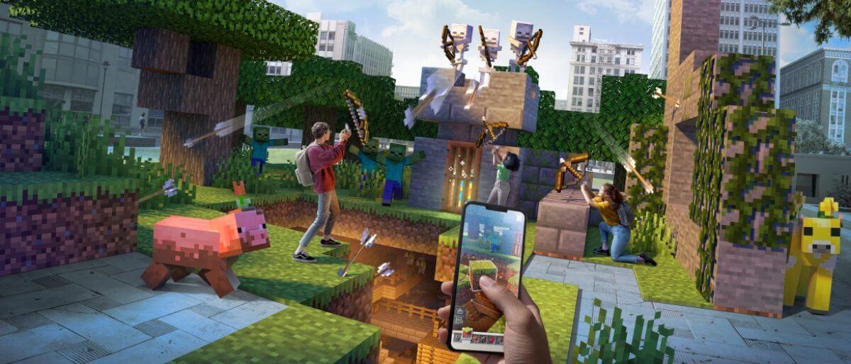 تحميل لعبة minecraft earth للاندرويد كاملة معدلة