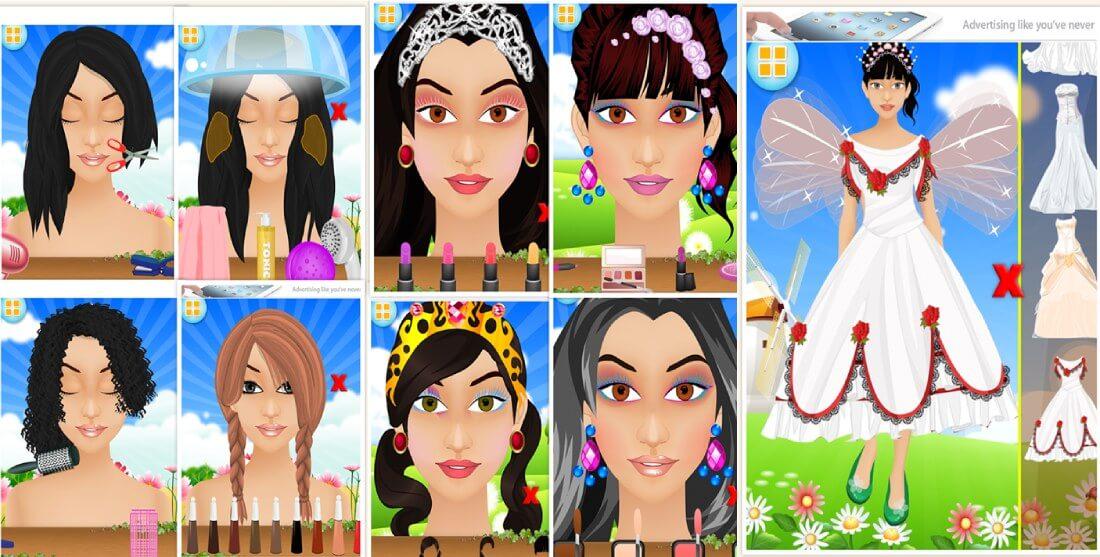 صالون الجنية - لعبة بنات