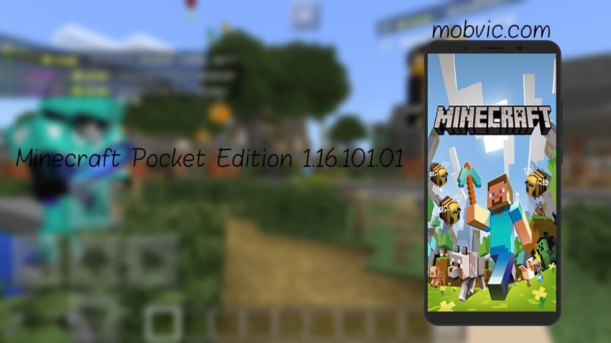 ماينكرافت: بوكيت إيديشين Minecraft Pocket Edition 1.16.101.01 apk