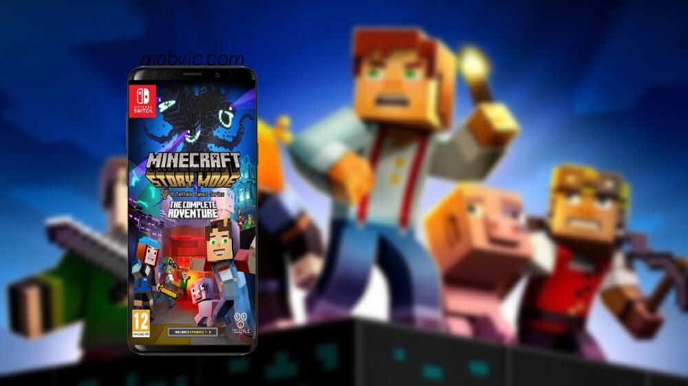 تحميل ماينكرافت: ستوري مود Minecraft Story Mode 2021