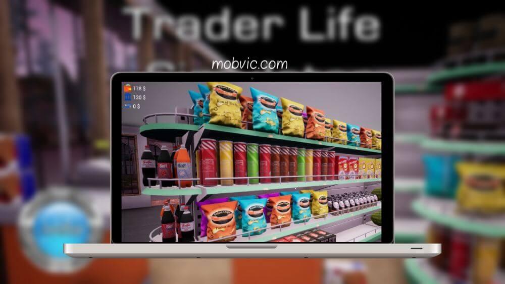 تحميل لعبة trader life simulator للاندرويد