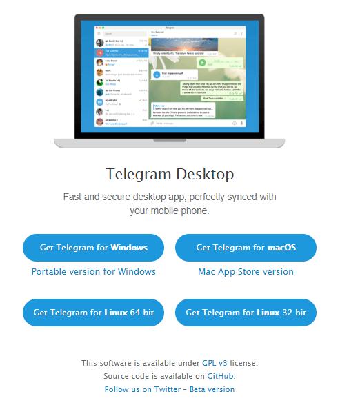 تليجرام للكمبيوتر